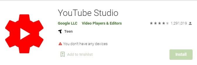 """open the youtube app"""