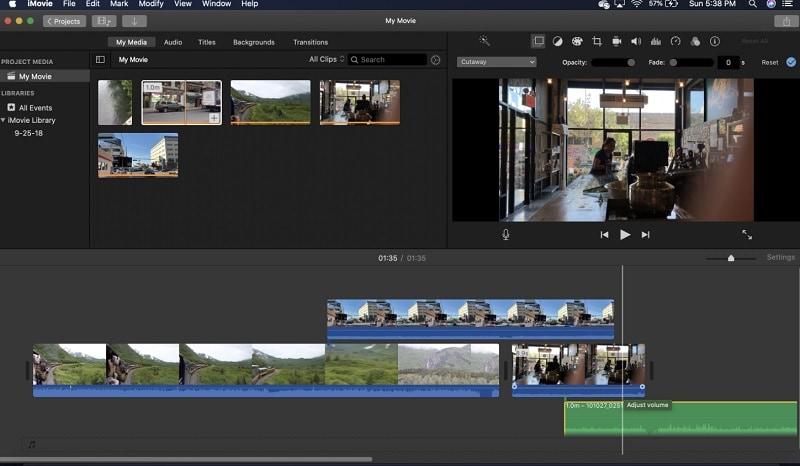 youtube video cutter imovie
