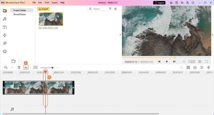 zoom in video