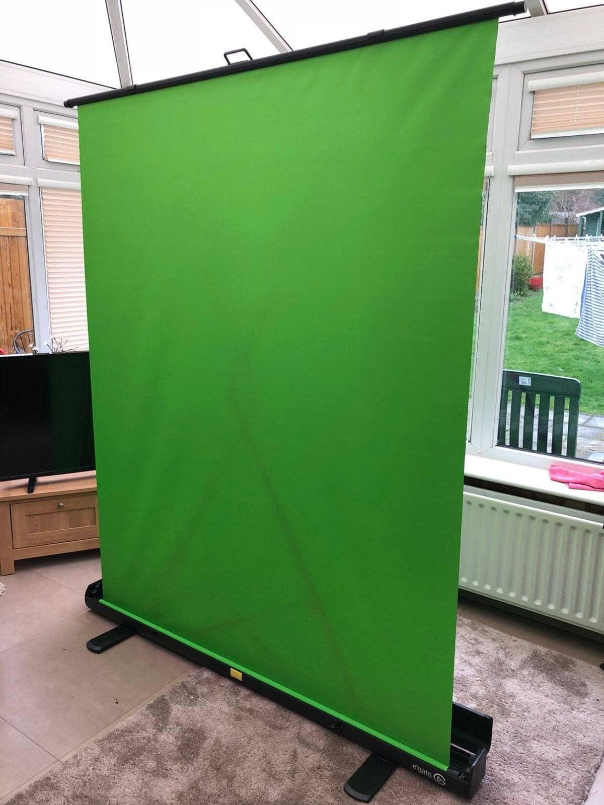 elgato green screen stand