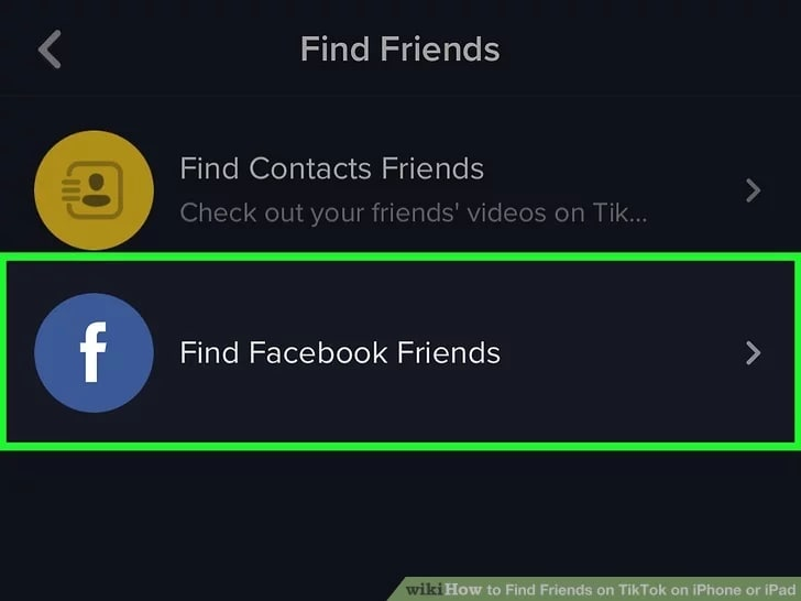 find-Facebook-friends-on-TikTok-web
