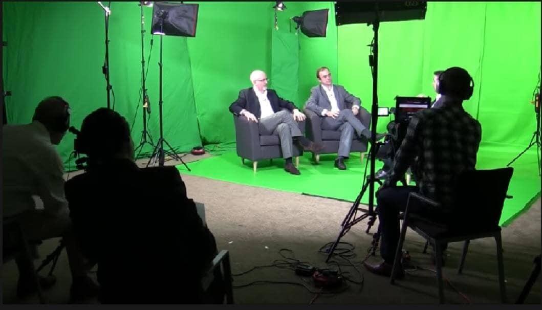 green screen for studio