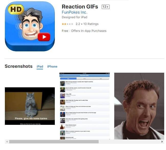 reaction gifs