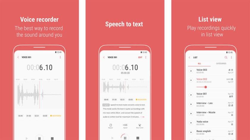 Samsung-Voice-Recorder