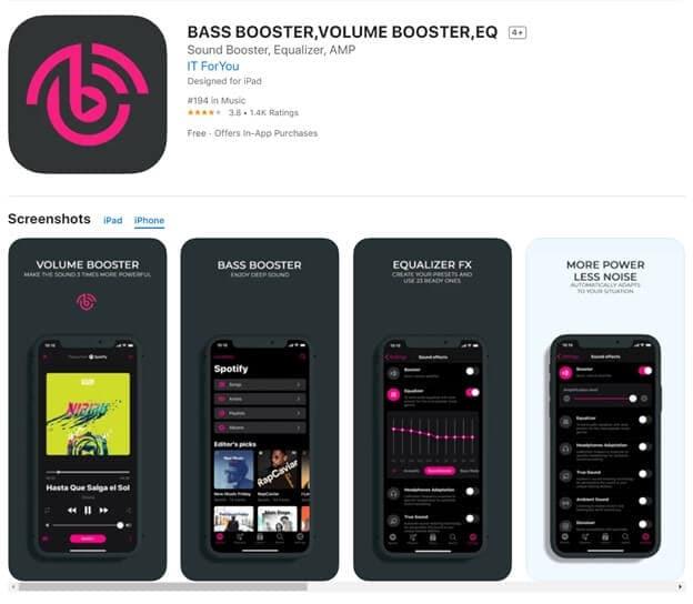 boom sound booster app