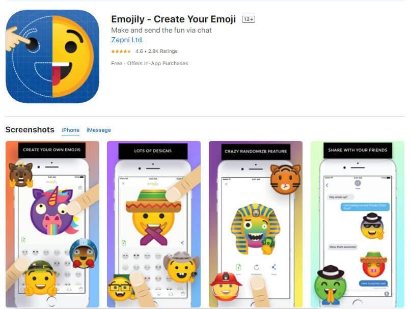emojily create emoji