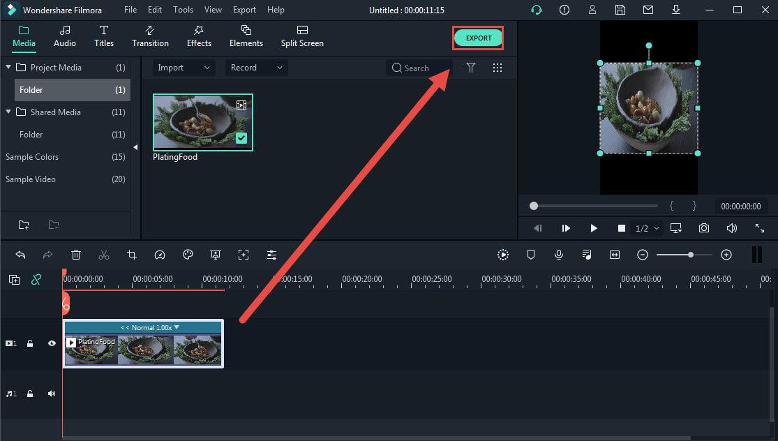 export reverse video