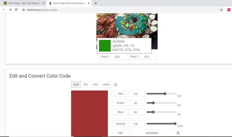redketch image color picker