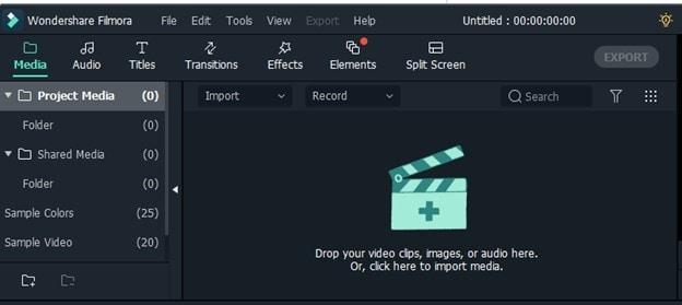 import video filmora
