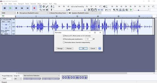normalizing-audio