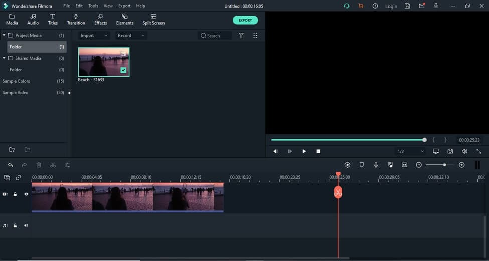 add motion track video