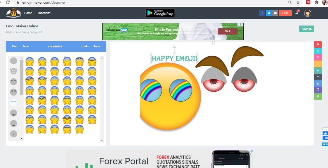 change emoji face
