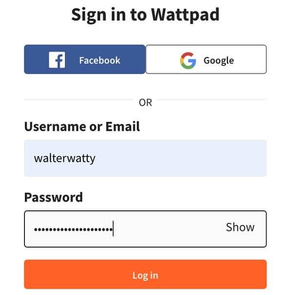 2-log-in-wattpad-account