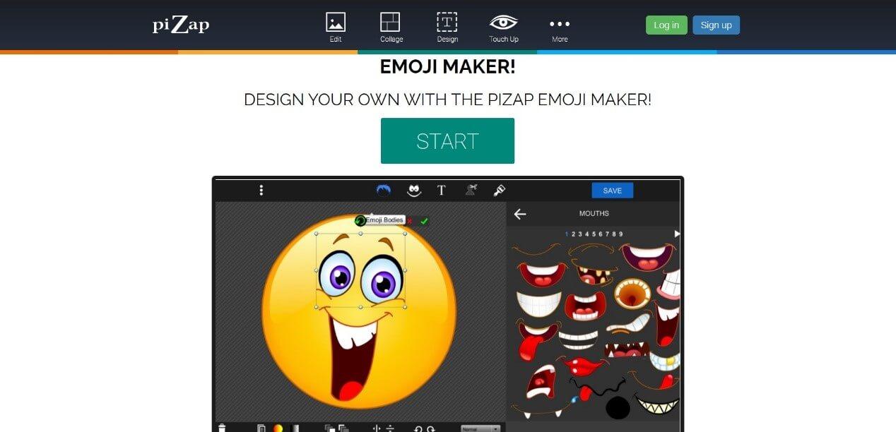 pizap emoji maker