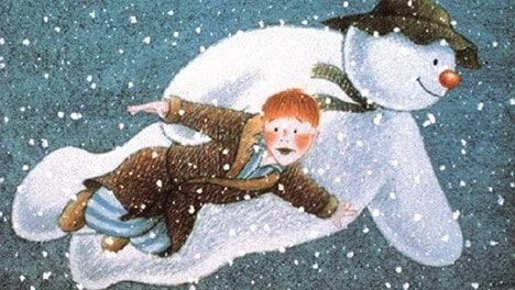 the snowman christmas anime-movie