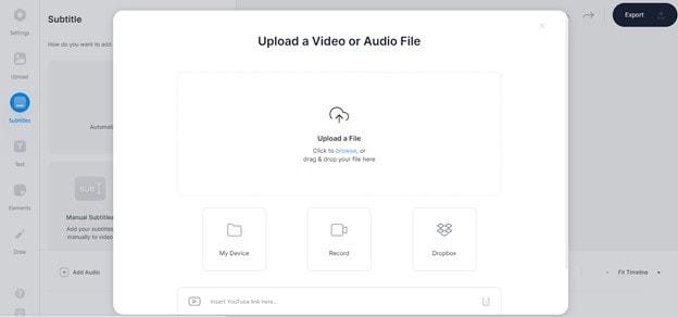 upload mp3 file