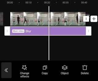 adjust blur duration