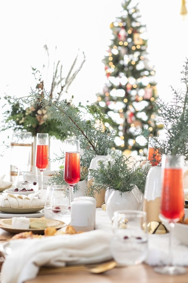 table makeovers in christmas designs