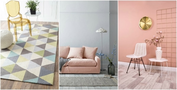 design with pastel colors