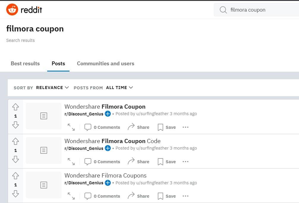 filmora coupon code on reddit