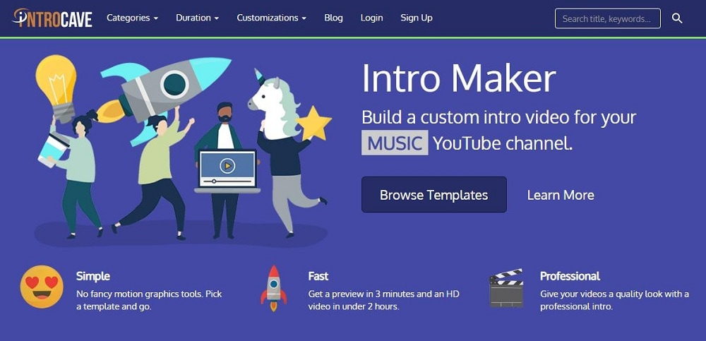 intro maker introcave