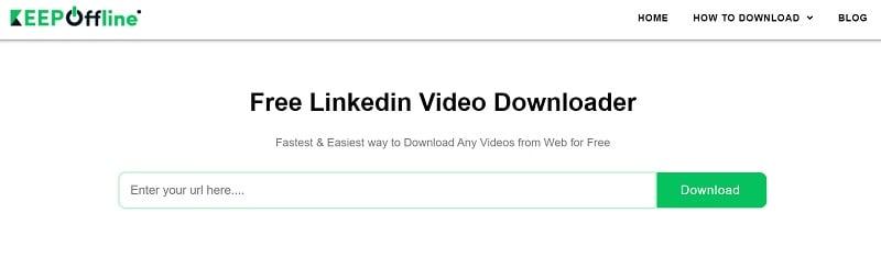 keepoffline linkedin video