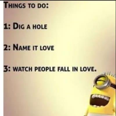 love minion meme