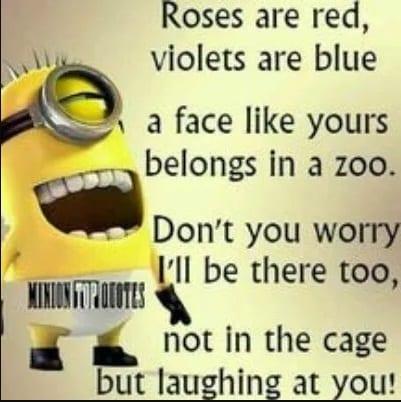 minion poem