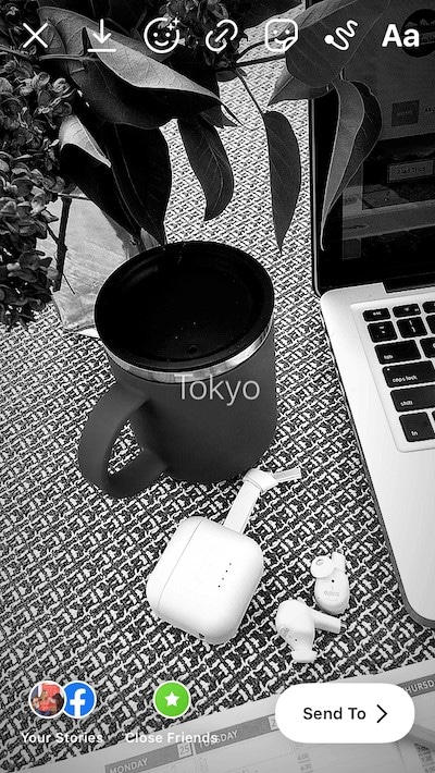 tokyo instagram filter