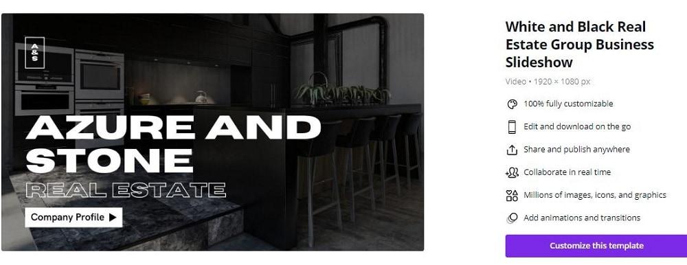 real estate business slideshow