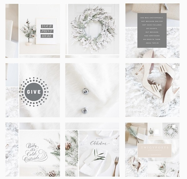 what are instagram grids