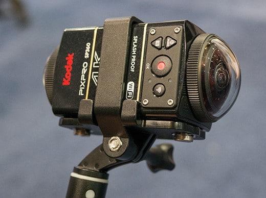 360 camera rigs - Kodak Dual Pro Pack