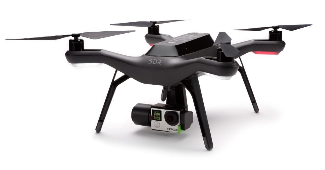 Drones solo 3DR avec le temps de vol le plus long