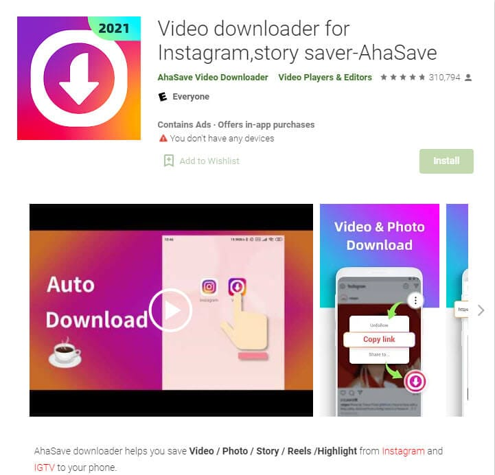 ahasave reels downloader