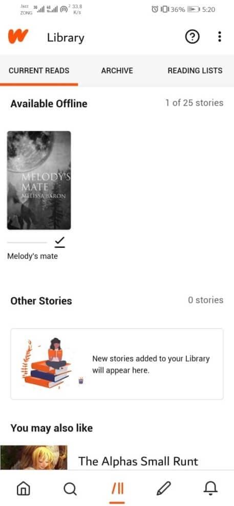 download-wattpad-story