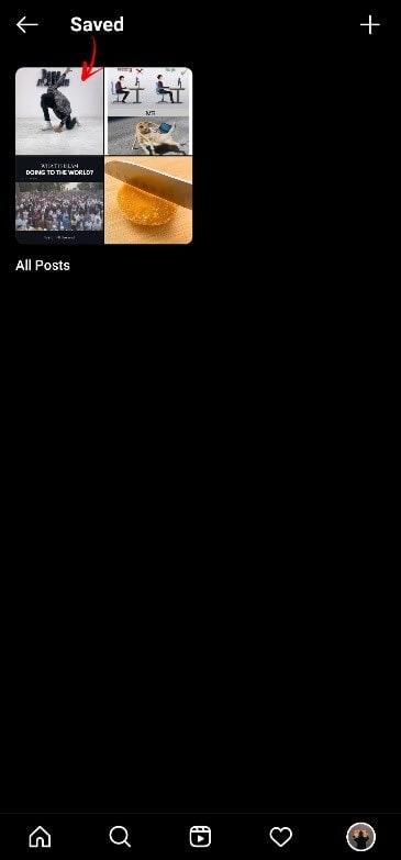 obtén los videos de reels descargados