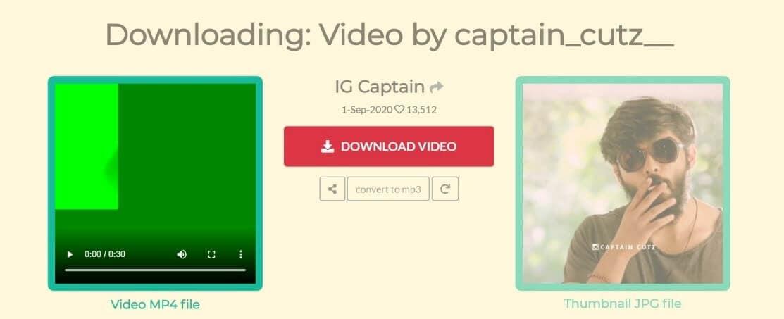 4ins convert video
