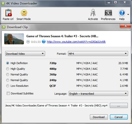 4k video downloader from youtube iphone video downloader