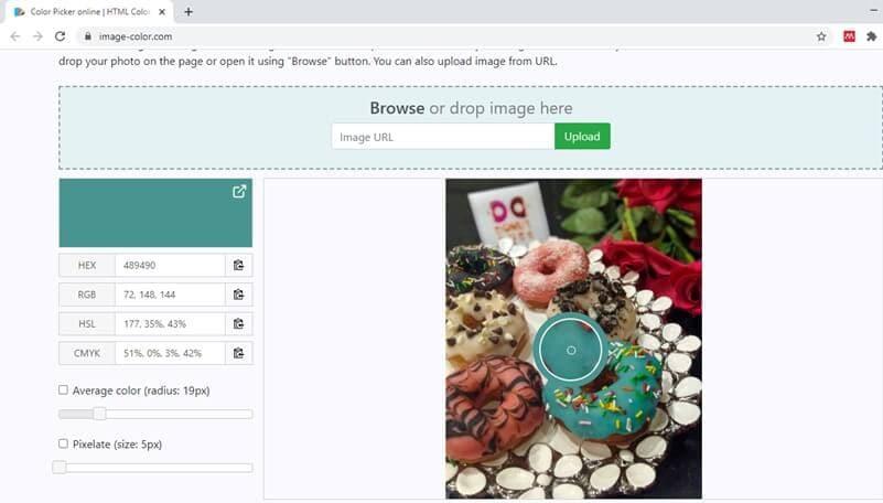 Image-color sélecteur de couleurs en ligne