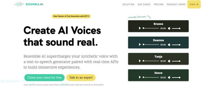 resemble-ai-voice-generator