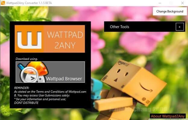 run-wattpad-story-downloader