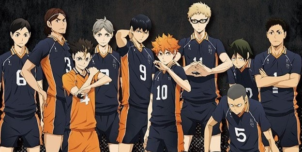 haikyu anime show