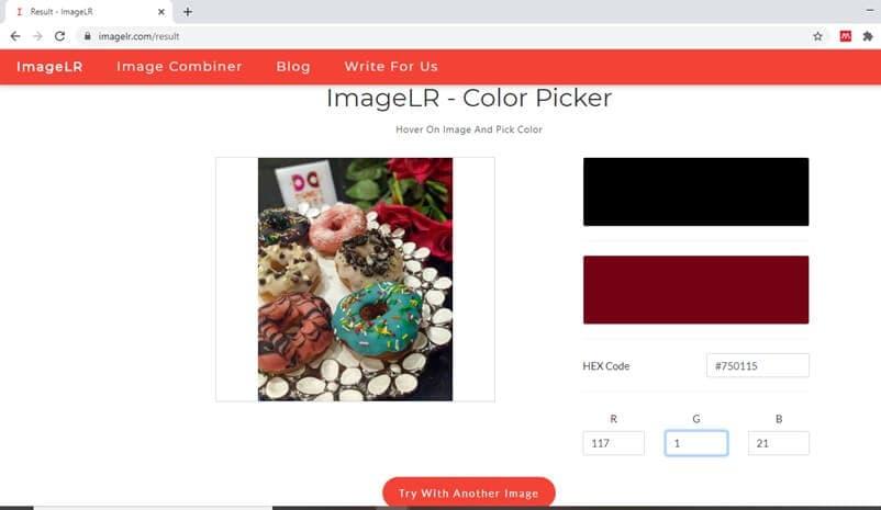 imagelr - selettore di colore online