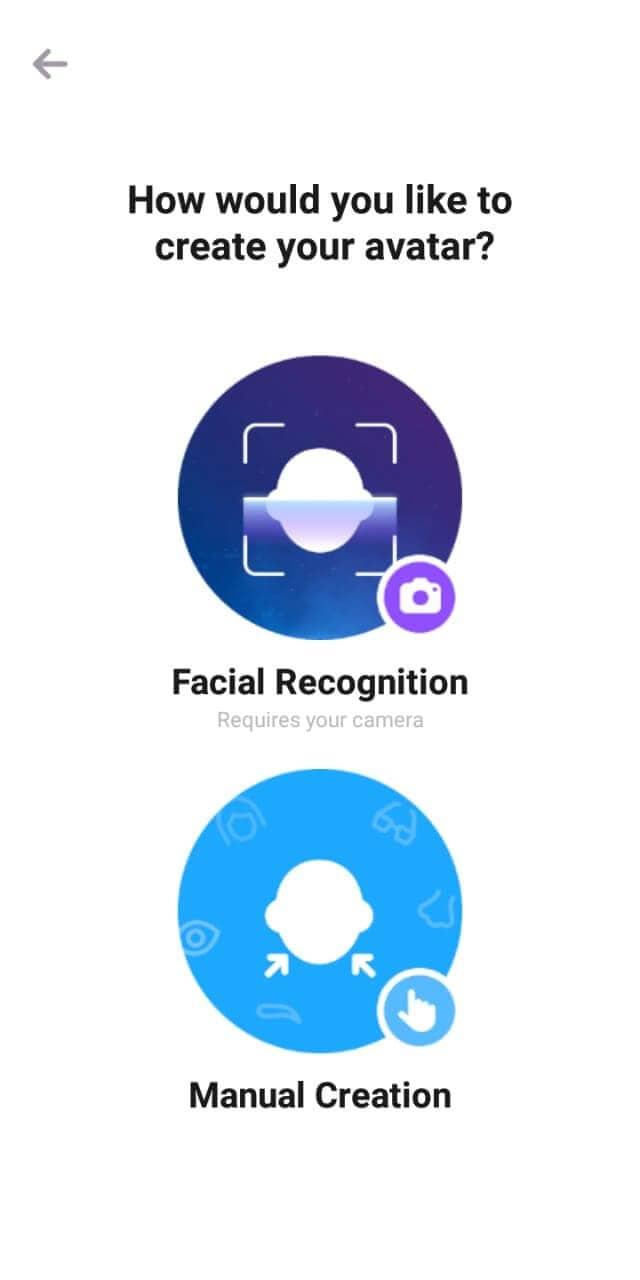 choose emoji creation mode