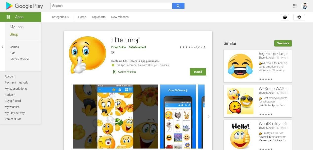 elite emoji maker