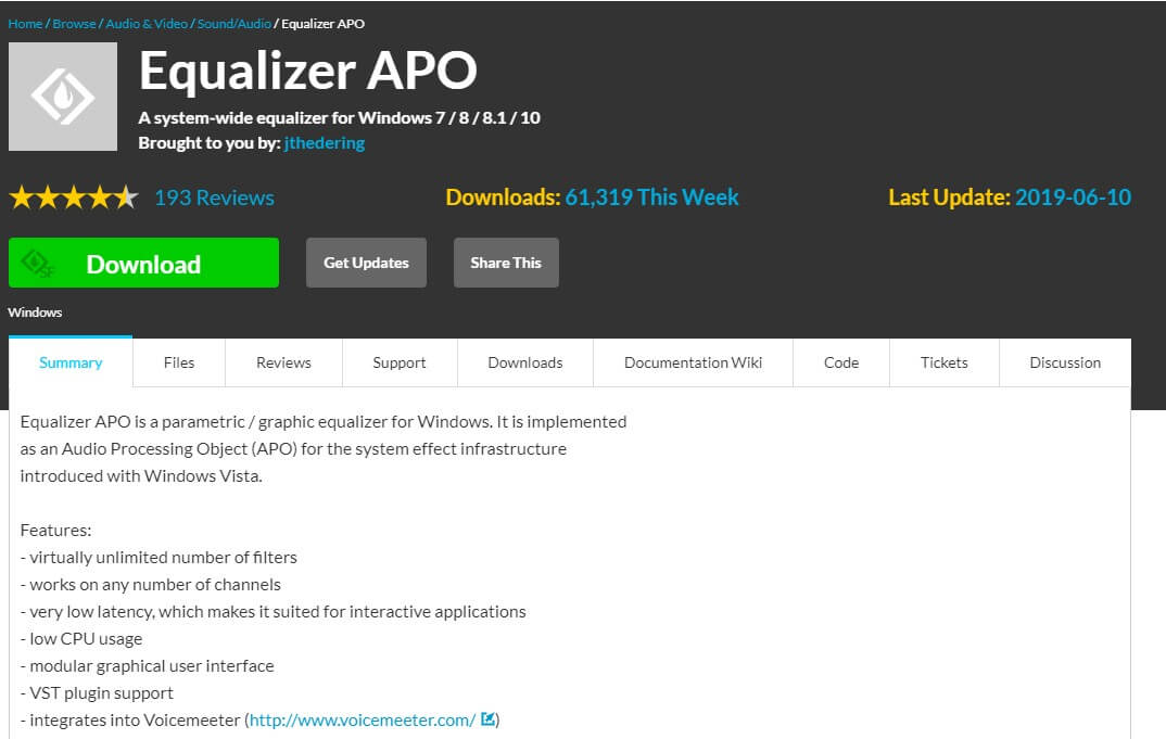 equalizer apo sound booster