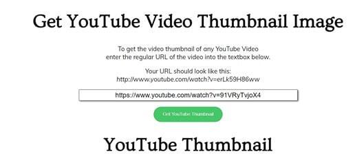 get youtube miniatura