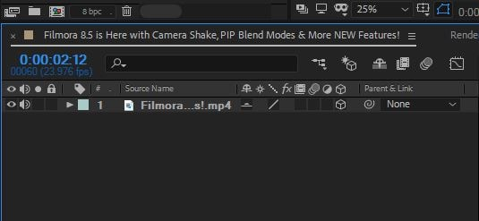 How to Reverse Videos with After Effects and FilmoraPro