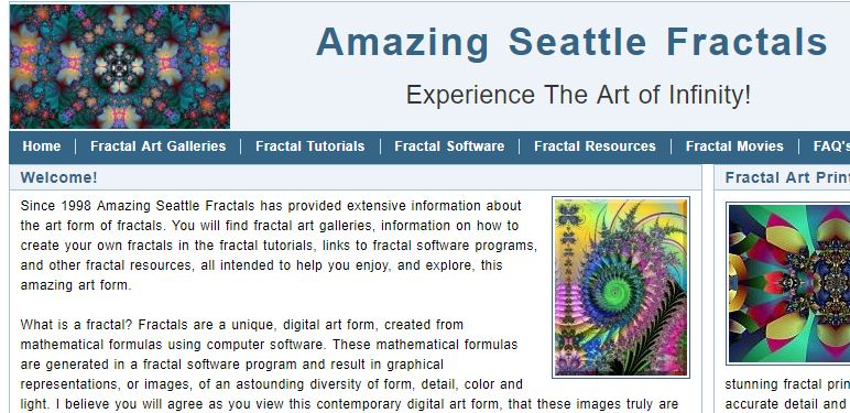 Amazing Seattle Fractals
