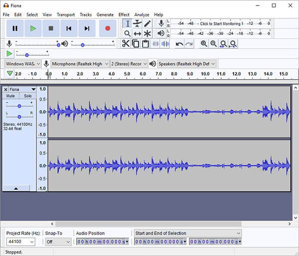 Record Discord Audio using  Audacity 3